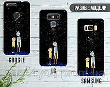 Силиконовый чехол для Samsung G935 Galaxy S7 Edge Рик и Морти (Rick and Morty) (28048-3414), фото 3