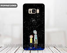 Силиконовый чехол для Samsung G935 Galaxy S7 Edge Рик и Морти (Rick and Morty) (28048-3414), фото 2