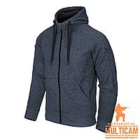 Кофта худі Helikon-Tex® Covert Hoodie (FullZip)® - Blue Melange