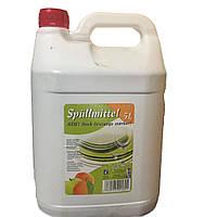 Жидкость для мытья посуды Spulmittel 5 л яблоко