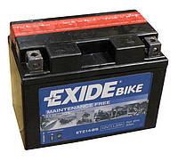 Аккумулятор Exide 12V 11.2AH/205A (ETZ14-BS)