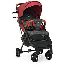 Дитяча прогулянкова коляска M 3910 YOGA II Carmine Red