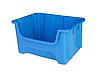 Пластиковий контейнер А-500 (490х400хН300мм) складський модульний лоток обсяг 35.0 л