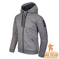 Кофта худи Helikon-Tex® Urban Hoodie (FullZip)® - Grey Melange, фото 1
