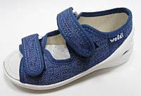 Детские текстильные тапочки,  мокасины, туфли, сандали, слипоны  тм Waldi, размер 23., фото 1