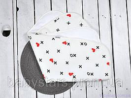 Многоразовые непромокаемые пеленки (размер 60*80 см), Крестики нолики