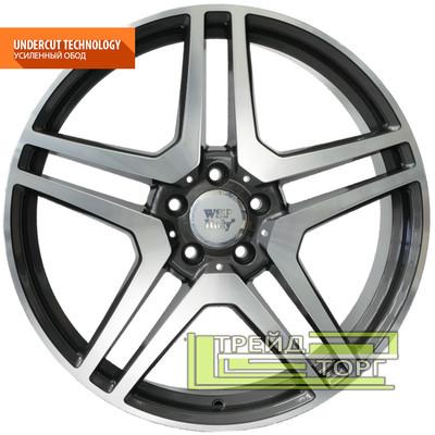 Литой Диск WSP Italy Mercedes (W759) AMG Vesuvio 8.5x19 5x112 ET54 DIA66.6 Anthracide polish