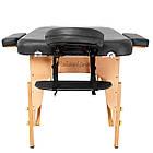 Массажный стол деревянный 2-х сегментный RelaxLine Bali кушетка массажная для массажа, фото 5