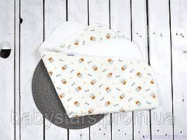 Многоразовая непромокаемая пеленка непромокашка (размер 60*80 см), Milk small