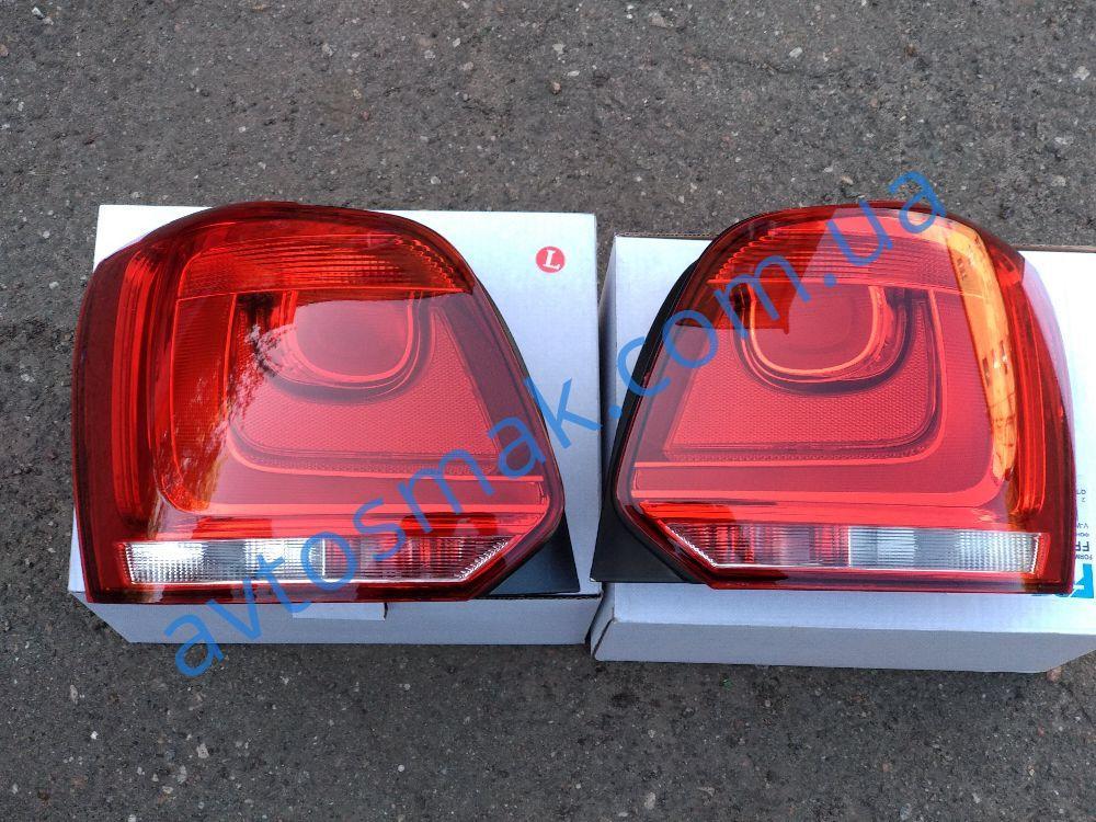 Фонарь задний для Volkswagen Polo '09- левый 6C0945095F
