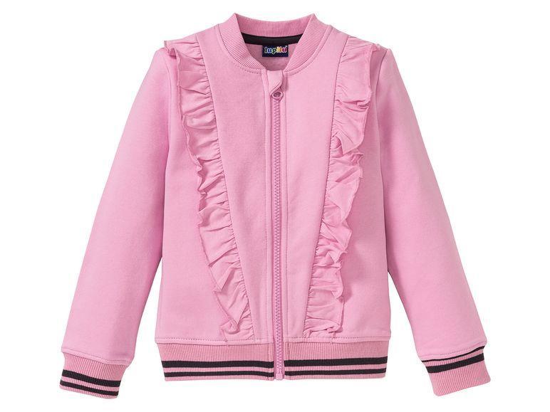 Хлопковая куртка для девочки