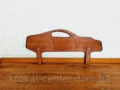 """Бортик деревянный для детской кровати """"Машинка""""  (цвет на выбор) 90 см., фото 3"""