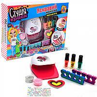 Детский набор для маникюра FUN GAME «Студия красоты» (сушка для ногтей, лак), 7420