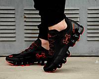 Мужские кроссовки Under Armour Scorpio Running shoes black/orange (в стиле Under Armour) черный, оранжевый