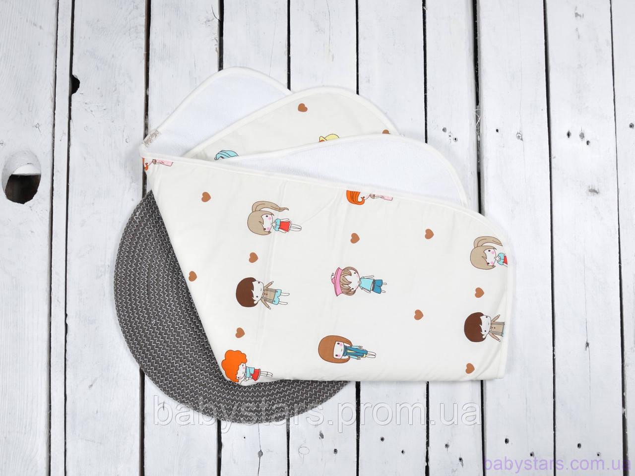 Непромокальні пелюшки, багаторазові для дітей (розмір 60*80 см), Дівчинки