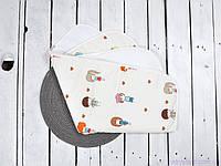 Непромокальні пелюшки, багаторазові для дітей (розмір 60*80 см), Дівчинки, фото 1