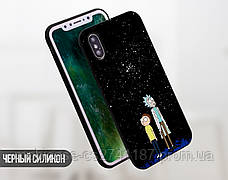 Силиконовый чехол для Samsung A805 Galaxy A80 Рик и Морти (Rick and Morty) (13024-3414), фото 3
