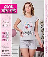 Хлопковая женская пижама с шортами