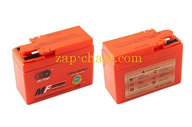 АКБ   12V 2,3А   гелевый, Honda   (115x49x86, оранжевый, mod:YTR4A-BS)   OUTDO