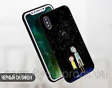 Силиконовый чехол для Xiaomi Mi 8 Lite Рик и Морти (Rick and Morty) (13029-3414), фото 3