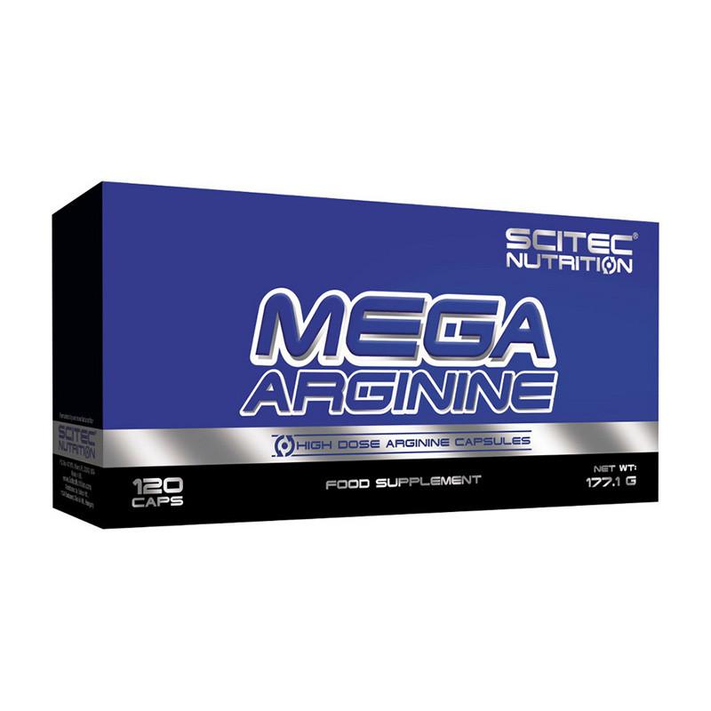 Scitec Nutrition Mega Arginine 120 caps
