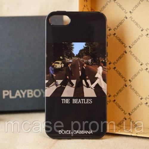 Чехол DOLCE&GABBANA для iPhone 5, 5s Beatles