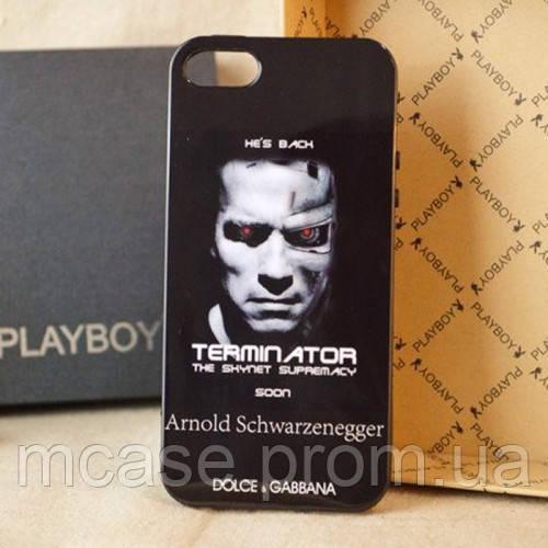Чехол DOLCE&GABBANA для iPhone 5, 5s Terminator