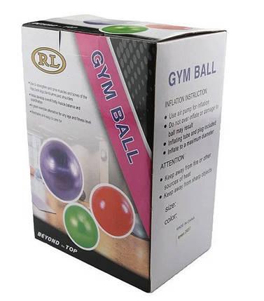 Мяч для фитнеса фитбол глянец 65 см, фото 2