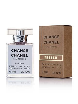 Tester женская туалетная вода Chanel Chance Eau Tendre 60 ml ОАЭ NEW, фото 2