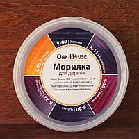 Морилка для дерева Oak House (красно - коричневая) 1 кг