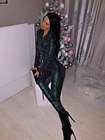 Женский комбинезон нарядный, в расцветках. ВФ-12-0120