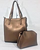 """Женская повседневная сумка """"Набор Гравитация Bronze"""", фото 1"""