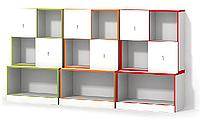 Модульная система 1 с дверцами Luxe Studio