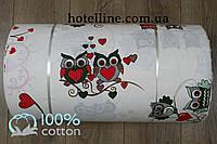 Ткань ранфорс - Совушки 290123. Турция
