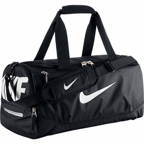 Сумка спортивная Nike team training smaill черная , фото 2