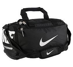 Сумка спортивная Nike team training smaill черная , фото 3