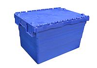 Пластиковый контейнер с крышкой SPKM 365 (600х400хН365мм) объем 59.0 л