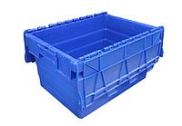 Пластиковый контейнер с крышкой SPKM 416 (600х400хН416мм) объем 69.0 л