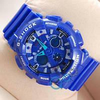 Спортивные часы Casio GA-120 Blue/Gray