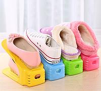 4 в 1 Двойные подставки для обуви Double Shoe Racks LY-500, органайзеры для обувы - Комплект 4 шт
