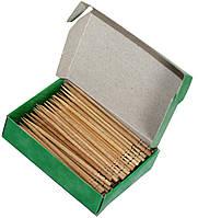 Зубочистки БЕРЁЗОВЫЕ 150шт в картонной упаковке, фото 1