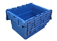 Пластиковый контейнер с крышкой SPKM 4325 (300х400хН250мм) объем 21.0 л, фото 1