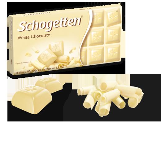 Немецкий шоколад Schogetten White Chocolate 100 грамм