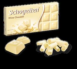 Німецький шоколад Schogetten White Chocolate 100 грамів