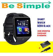 Смарт-часы Smart Watch DZ09 Black / Умные Часы
