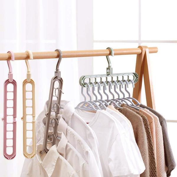 Умная вешалка Wonder Hanger  - органайзер для одежды. Плечики, тремпеля многофункциональные