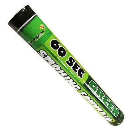 Цветной дым (дымный факел) зеленый MA0512-G, фото 2