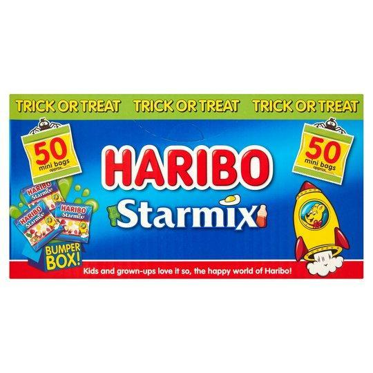 Haribo Starmix Megabox 50 mini bag 800 g