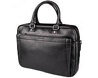 Мужская сумка для ноутбука на плечо David Jones (603) черная, фото 1
