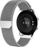 Умный фитнес браслет Lemfo CF18 с измерением давления (Серебристый), фото 5